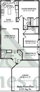 Hawkstone - 3 bedroom + 2 bathroom bungalow Regina Regina Area image 2