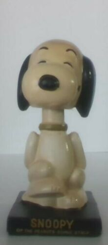 Vintage Peanuts Snoopy Lego Bobblehead Nice Condition Hard To Find