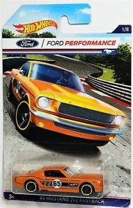 Hot Wheels 1/64 '65 Mustang 2+2 Fastback Diecast Car