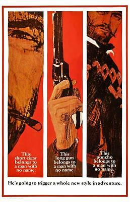 A Fistful Of Dollars POSTER  - LARGE *RARE* Western Clint Eastwood Sergio Leone