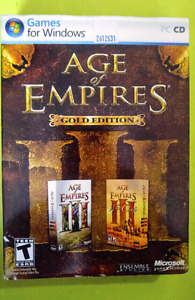 Age of Empires - Gold edition for PC