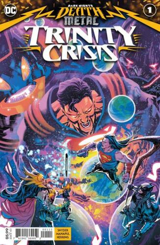 Dark Nights Death Metal Trinity Crisis #1 Main Cover STOCK PHOTO DC (9/8/2020)