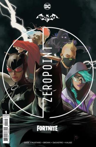 BATMAN FORTNITE ZERO POINT #1 2ND PRINT VARIANT WITH CODE (NM) 2021 HARLEY QUINN