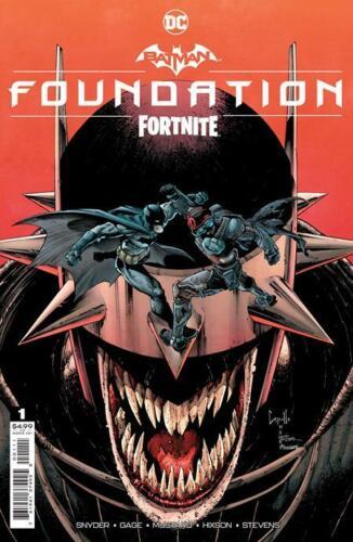 Batman Fortnite Foundation #1 Capullo Cvr Game Code DC Comic 1st Print 2021 NM