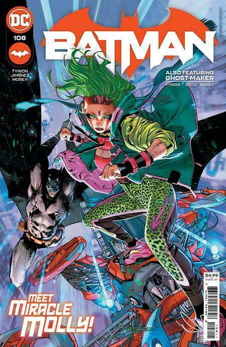 Batman #108 Cvr A Jimenez DC Comics 05.04.21
