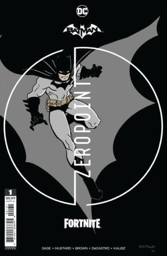 Batman Fortnite Zeropoint #1 Donald Mustard Premium Variant Sealed with code nm