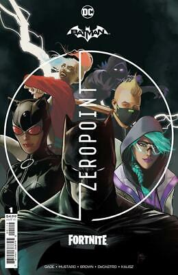 BATMAN FORTNITE ZERO POINT #1 SECOND PRINTING DC COMICS
