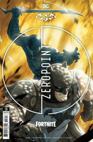 Batman Fortnite Zero Point #3 Main cover 1st Print w/code PRESALE 5/18/2021