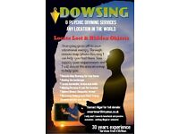 Dowsing Service to locate lost or missing pets and animals.