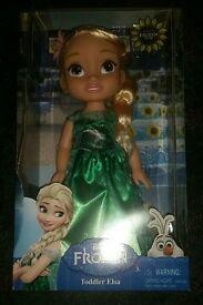 New Frozen toddler Elsa doll