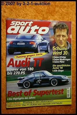 Sport Car 1/99 Audi Tt Best of Supertest Cup