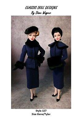 """SEWING PATTERN-Style 105 Film Inspired Resort Wear Gene Tyler 16/"""" Poppy Parker"""
