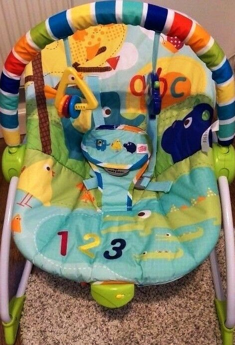 Bright Starts Rock In The Park Rocker - barely used-visits only