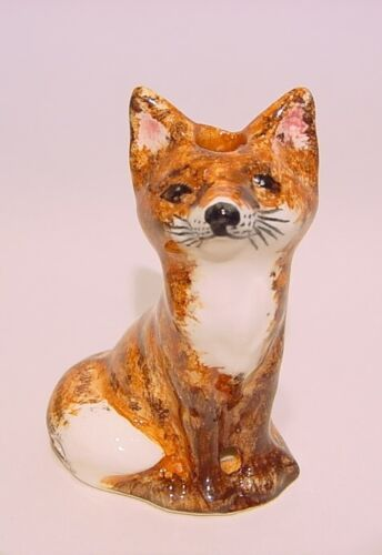 Small Sly FOX Pie Bird Vent Lownds-Pateman Babbacombe Pottery ENGLAND