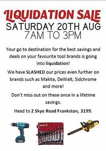 Lendarent Liquidation Sale -  7AM - 3PM | TOOL, BIKES GOLF CLUBS Dandenong Greater Dandenong Preview