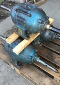 Industrial bouble ended buffing machine