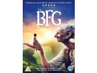 BFG new sealed DVD
