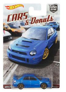 Hot Wheels Car Culture Cars and Donuts Subaru Impreza WRX