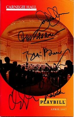 BABES IN TOYLAND Playbill Signed By the Cast Including BLAIR BROWN