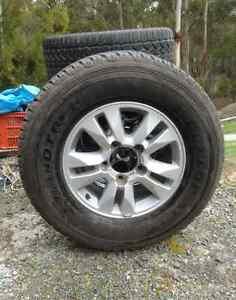 Toyota Land Cruiser Wagon Spare Wheel Blackmans Bay Kingborough Area Preview