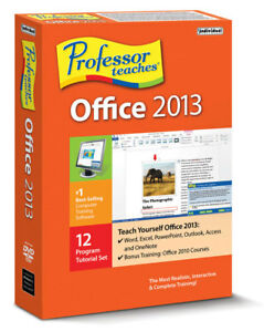 Professor Teaches Office 2013 XP Vista 7 8