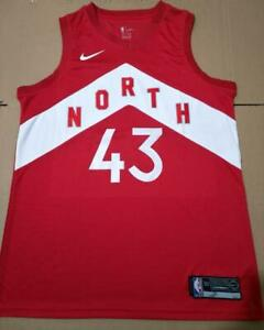 BRAND NEW Pascal Siakam Raptors City OVO Red Basketball Jersey