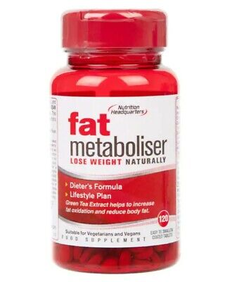 Fat Metaboliser 120 Tablets Nutrition Headquarters BBE 09/2023 - FAST DISPATCH