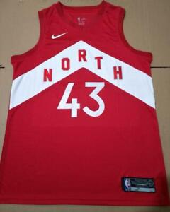 ce7493329995 BRAND NEW Pascal Siakam Raptors City OVO Red Basketball Jersey
