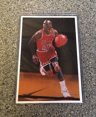 Michael Jordan 2003 Players Authentic Direct Stamp Numbered Post Card Basketball