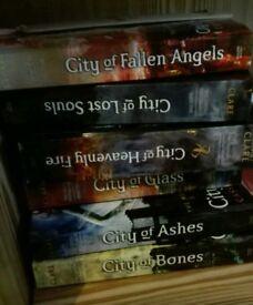 Mortal Instruments book bundle