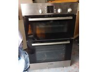 Oven - BOSCH - Double oven - fitted oven