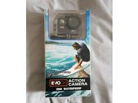 HD Sports and Action Camera Kit, 30M Waterproof Case and Mount Set