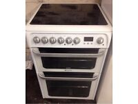 HOTPOINT ULTIMA 60CM ELECTRIC COOKER, 4 MONTHS WARRANTY, FREE LOCAL DELIVERY