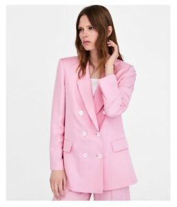 New with Tags, Millenial Pink Blazer, Suit Jacket, Size Small S