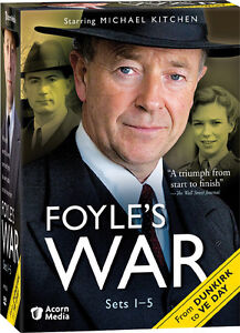Foyle's War 19-Disc DVD Sets 1 - 5 (2008) * Brand New * All 19 Episodes Foyles