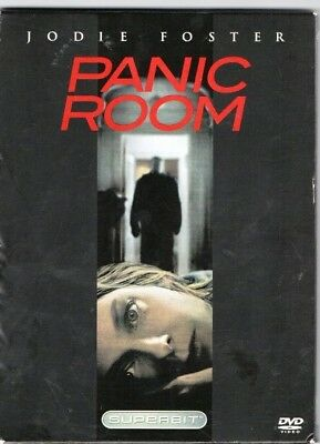 """""""PANIC ROOM"""", Jodie Foster; a SUPERBITt DVD Disc Edition; A Thriller Film"""