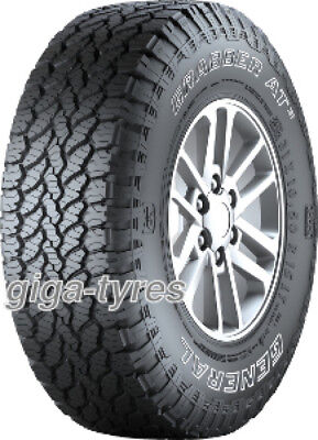 4x TYRE General GRABBER AT3 235/55 R18 104H XL with FR M+S