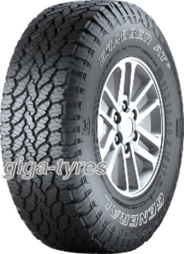 4x TYRE General GRABBER AT3 215/80 R15 112/109S 10PR with FR M+S