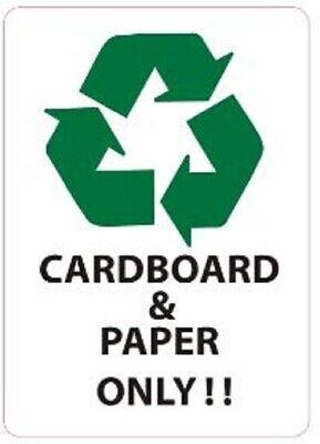 Cardboard And Paper Only Sticker Stickerwhite 5x7