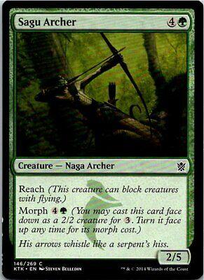 Sagu Archer Magic The Gathering Khans Of Tarkir Card Mint X1 comprar usado  Enviando para Brazil