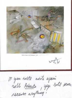 MATTA (Roberto Matta Echauren) --- original signiert - 6#22