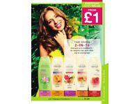 Avon Naturals 2 in 1 Shampoo & Conditioner
