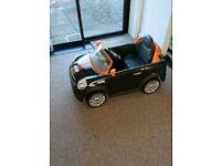 Kids electric car Mini cooper