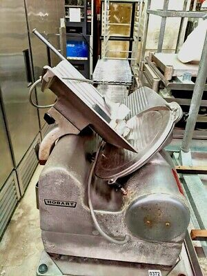 Hobart Model 1712 Automatic Deli Meat Cheese Slicer Commercial.