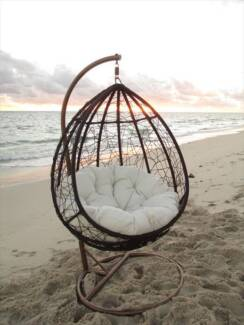 Modern Outdoor Hanging Pod Chair