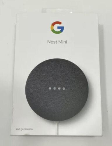 Google Nest Mini 2nd Generation Smart Speaker - Charcoal free Shipping  - $39.99