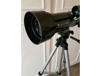 Celestron telescope + more