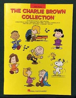The Charlie Brown Collection Easy Piano Book Songs Music Theme Christmas Pumpkin ()