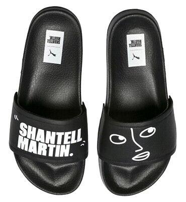 Puma Leadcat x Shantell Martin Slides Flip Flops Sandal Mens 365951 01