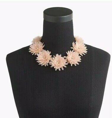 - J.Crew Blossom Necklace In Faded Teak New With Tags & Bag RP $98.00